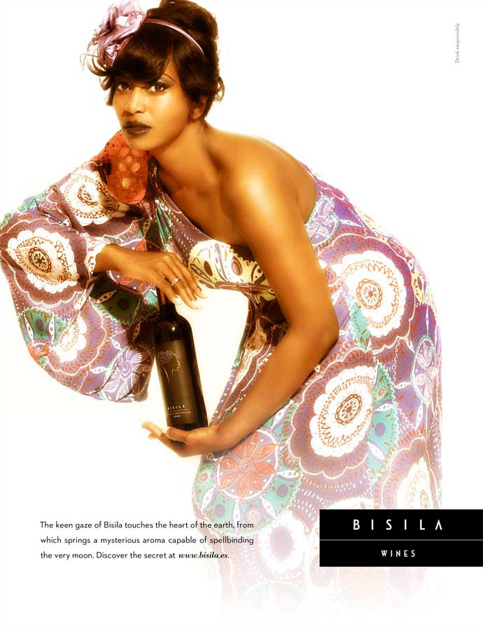 Anuncio revista USA Bisila wines