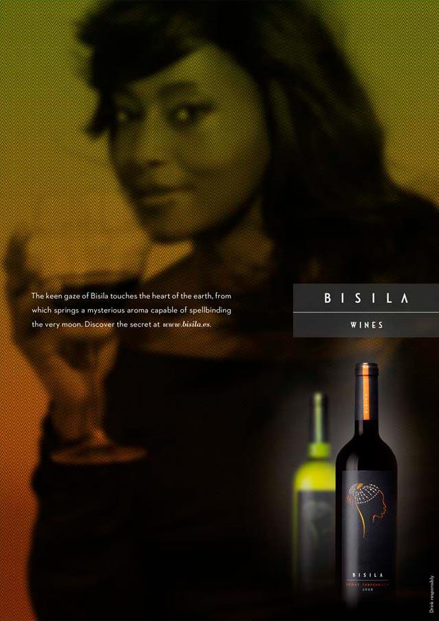 Anuncio revista EEUU Bisila wines