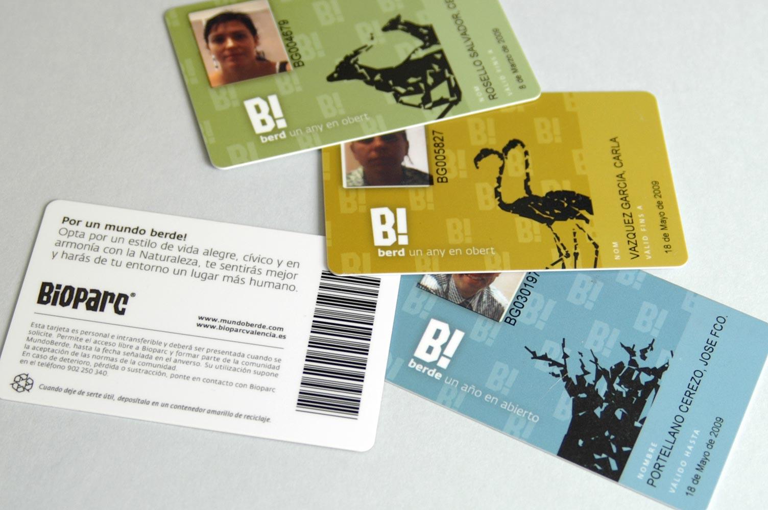 Bioparc diseño pase anual Berde!