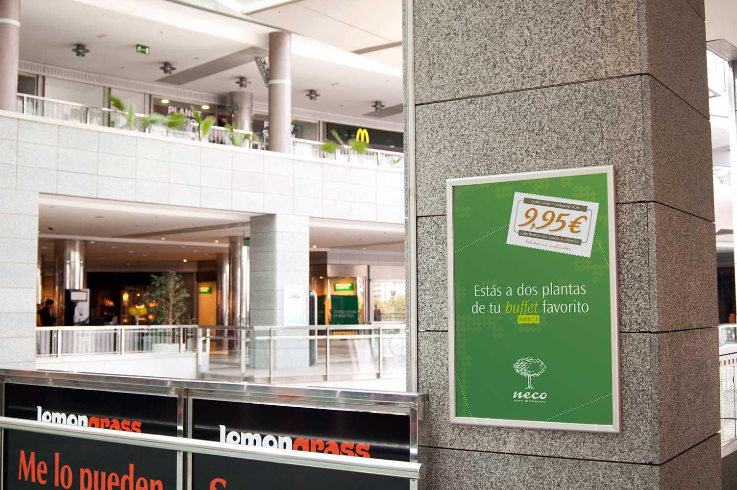 Campaña de publicidad Neco CC Aqua