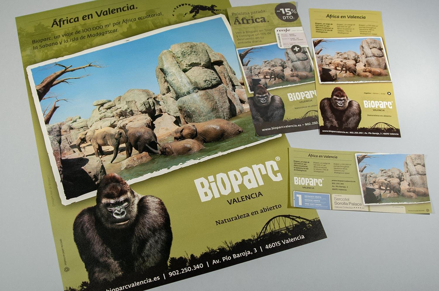Comunicación anual para Bioparc Valencia en 2009