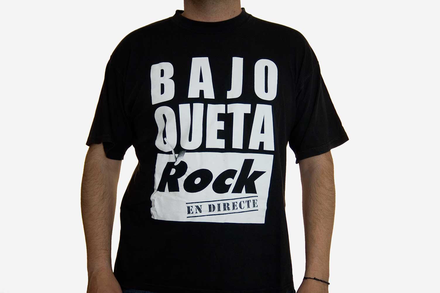 Camiseta Bajoqueta Rock en directeect