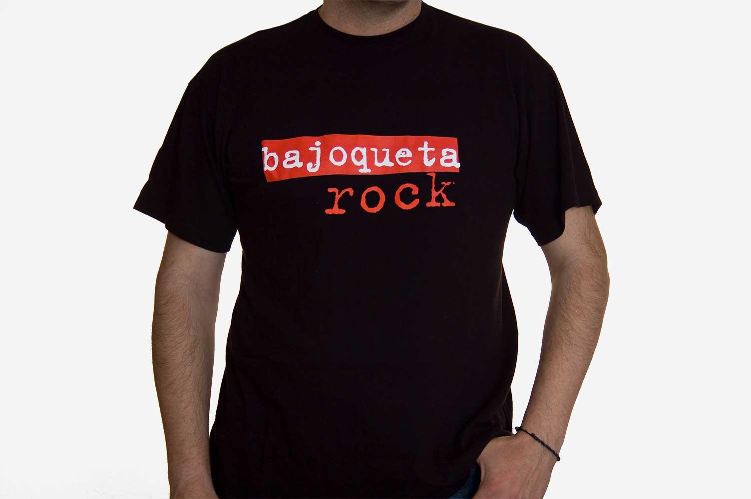 Camiseta Bajoqueta Rock Espardenya a