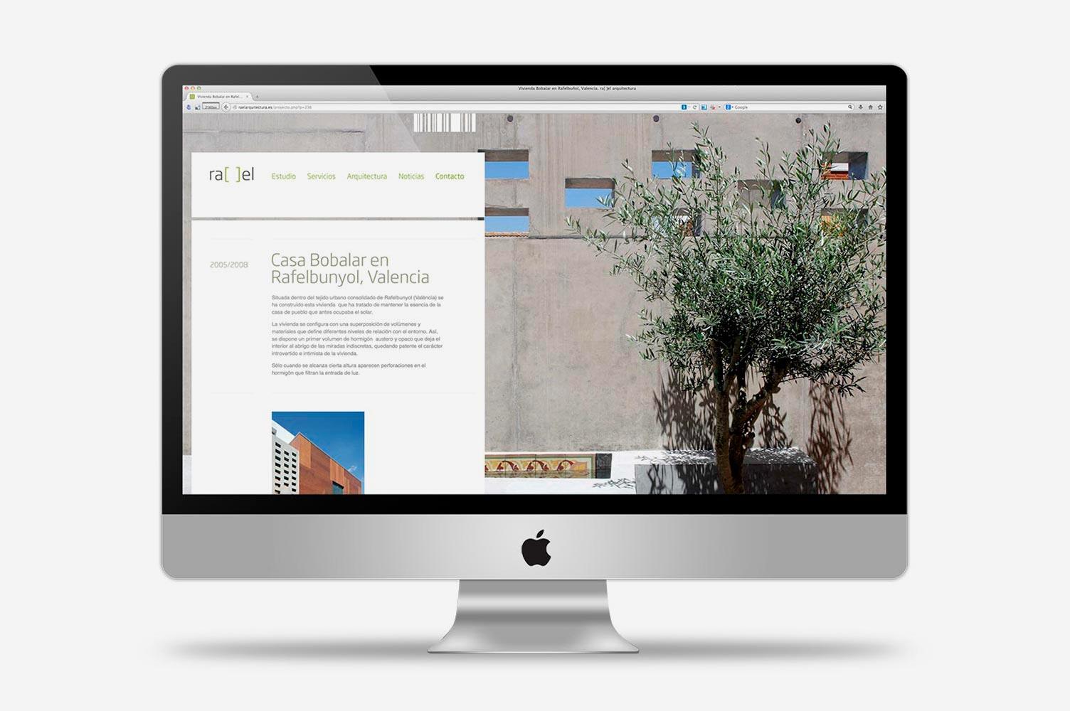 Diseño de página web dinámica rael