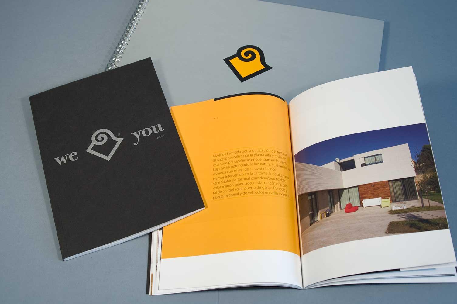 Diseño y maquetación portfolio de trabajos Vicent Torres