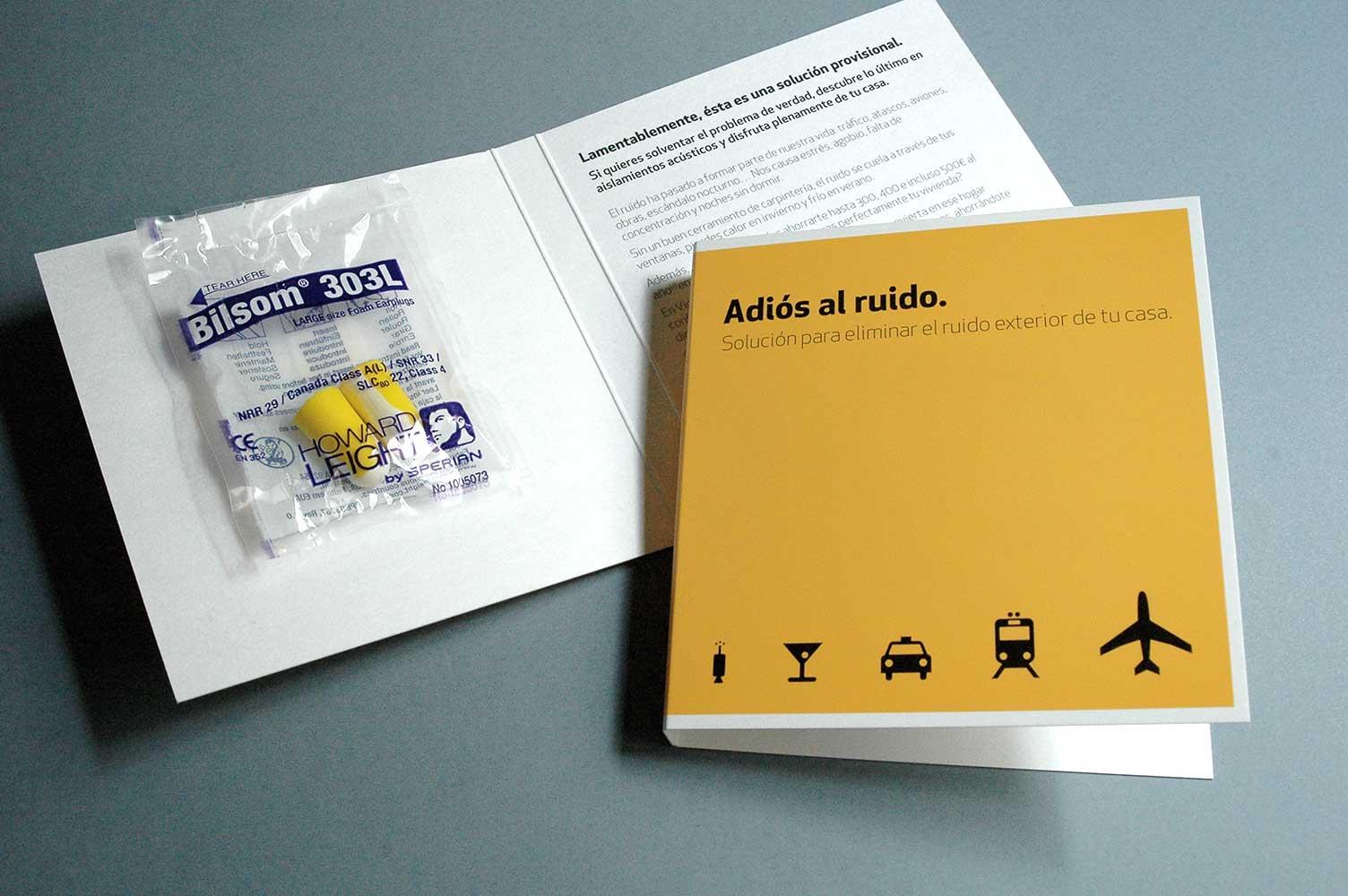 Envío publicitario aislamiento en zonas de contaminación acústica Vicent Torres
