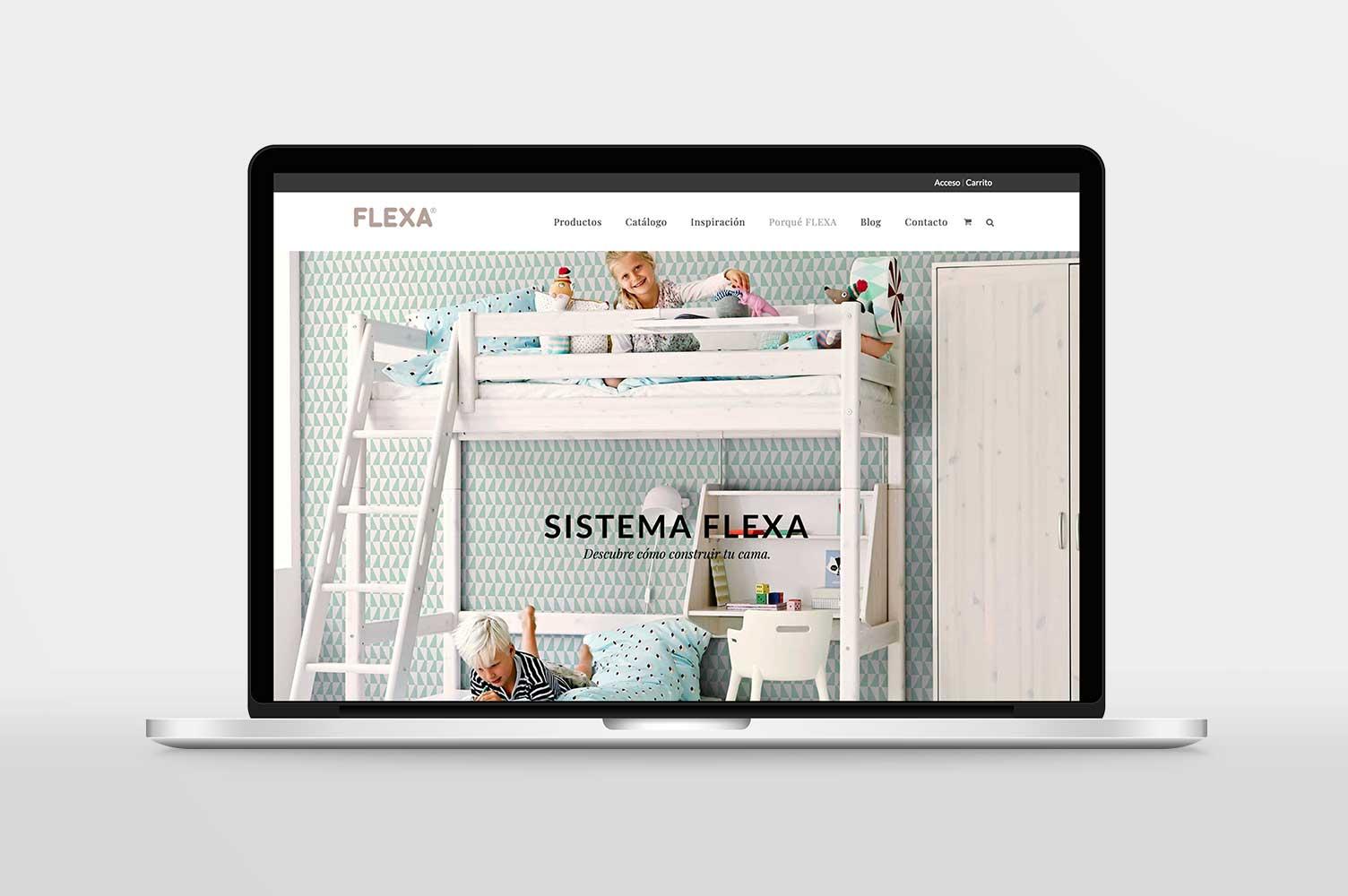 E-commerce Flexa Valencia visión portátil