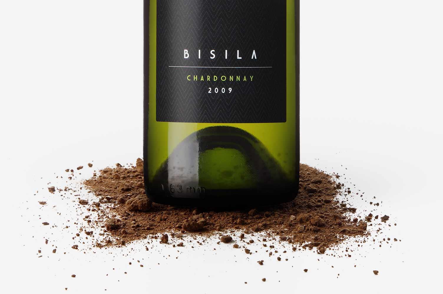 Foto envase anuncio de prensa Bisila Wines