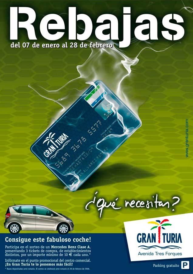 Cartel y comunicación anual CC Gran Turia