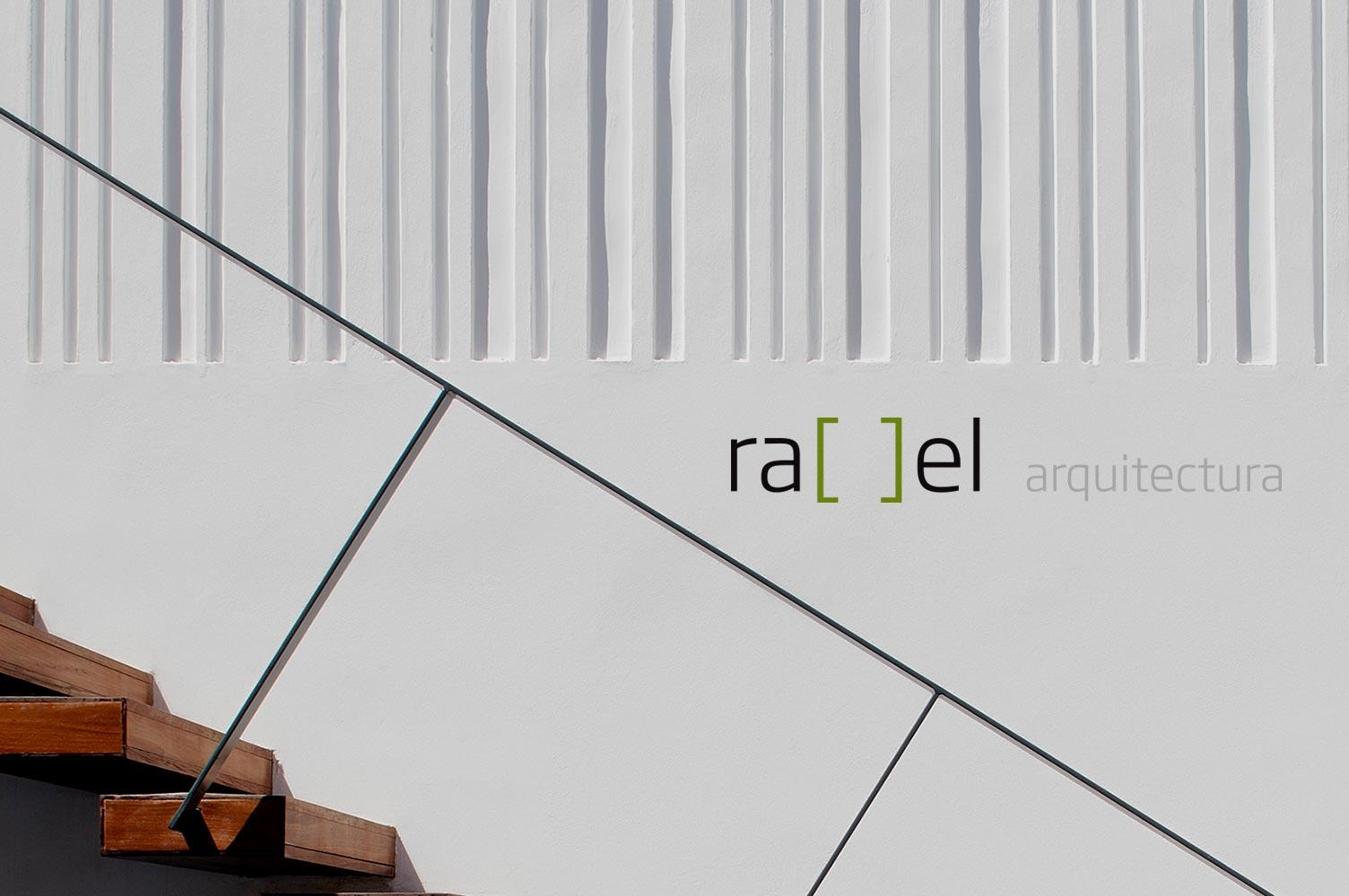 Imagen de marca página web dinámica rael arquitectura