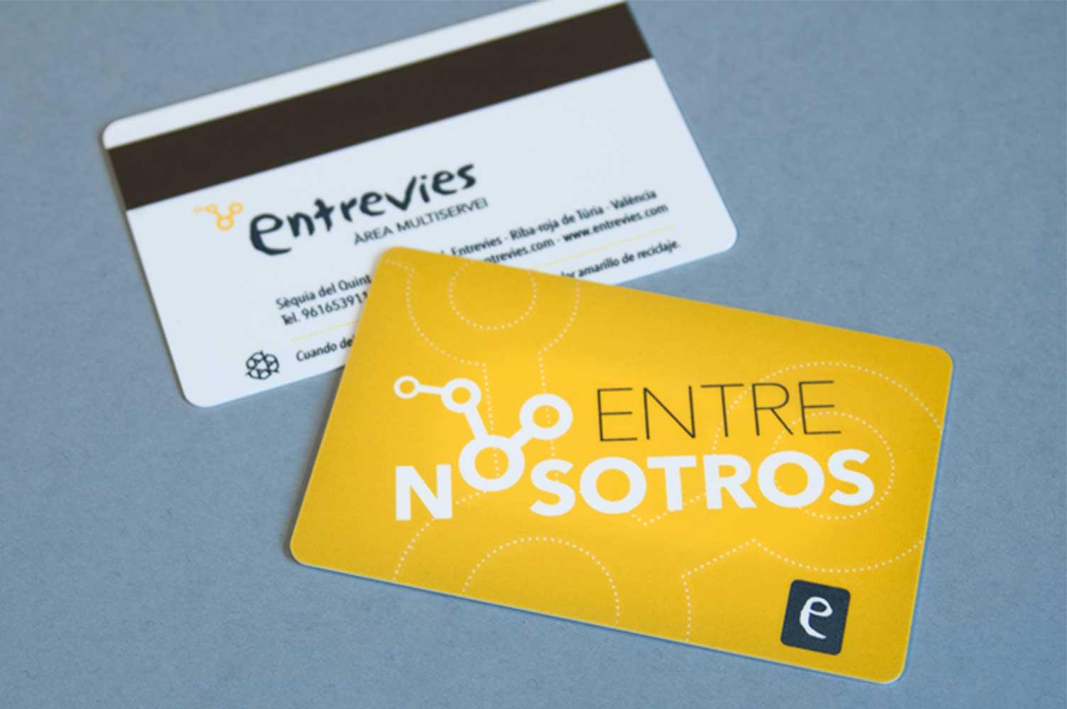 Diseño global entrevies: tarjeta de socio