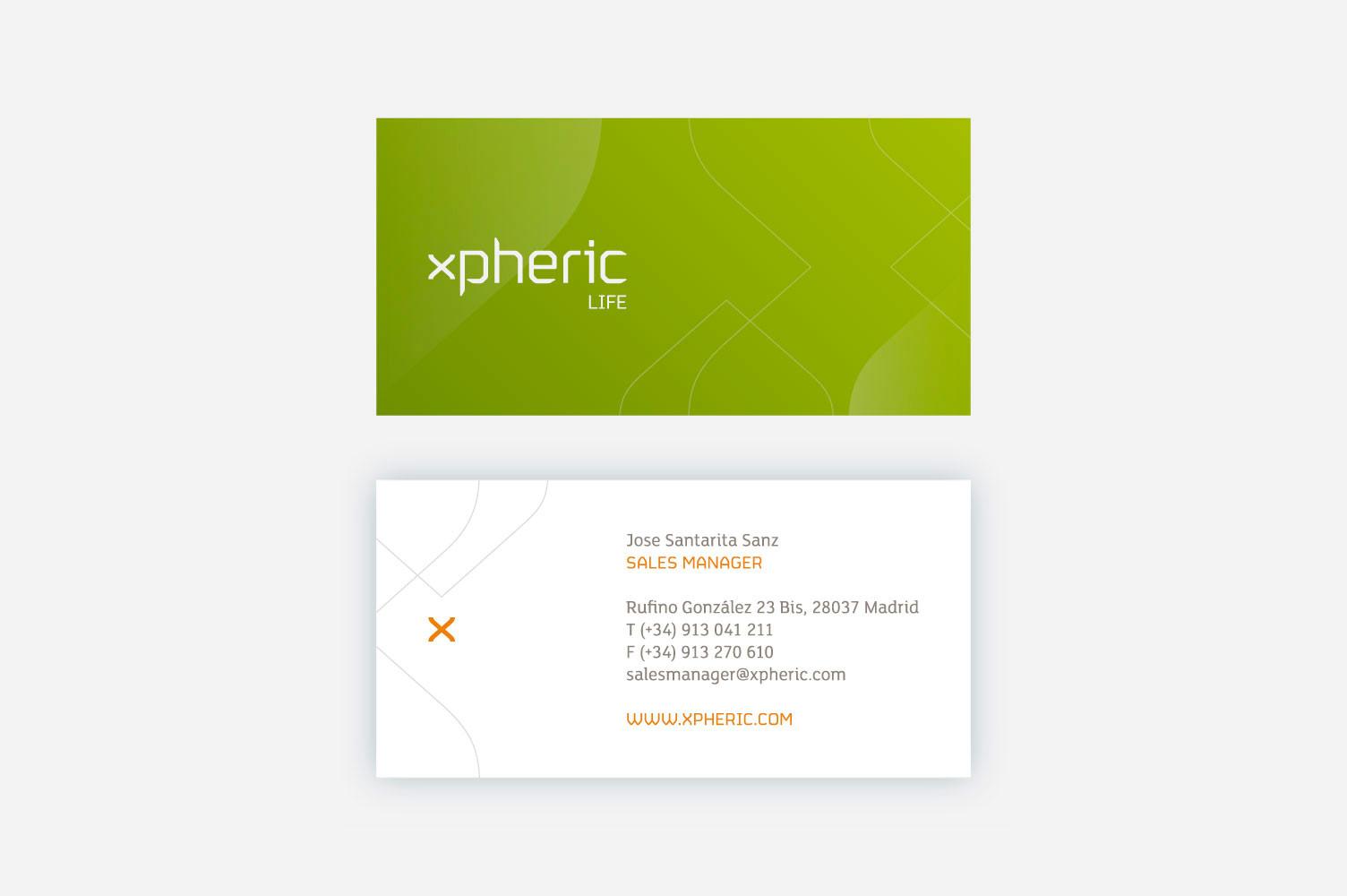 Diseño de tarjetas xpheric v1
