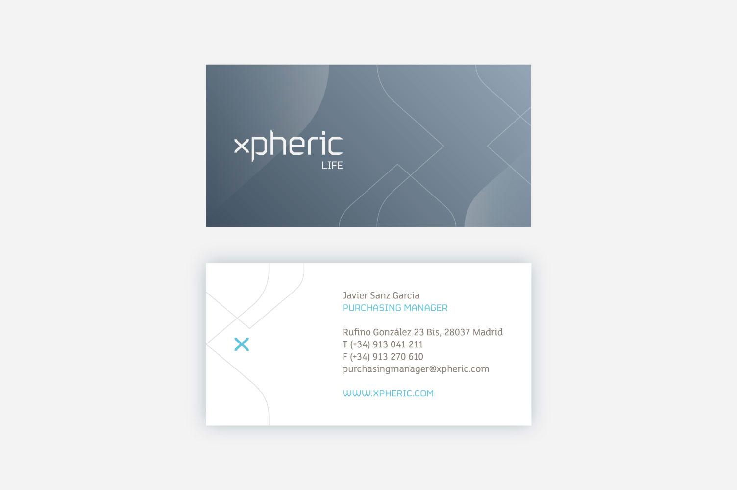 Diseño de tarjetas xpheric v2