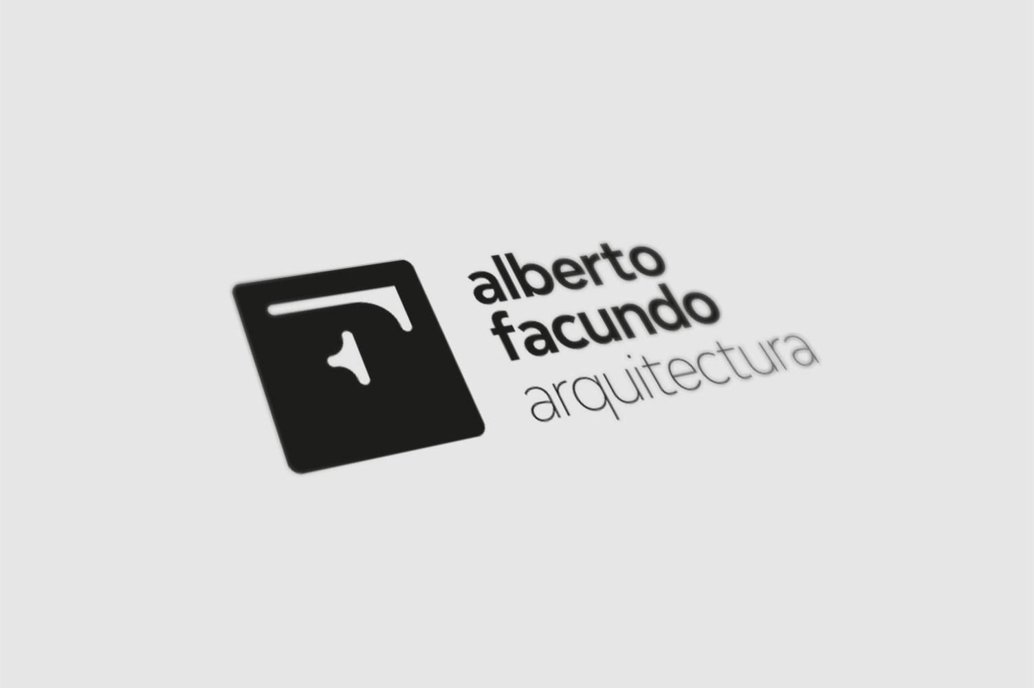 Diseño de marca para Alberto Facundo Arquitectos