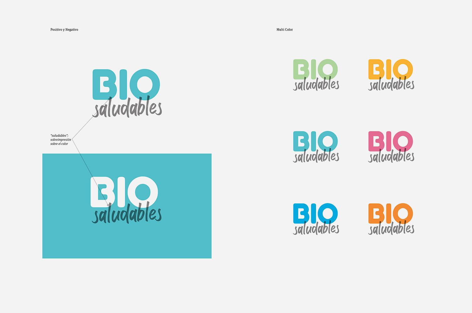 Diseño de marca para Espais Bio Saludables